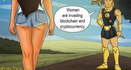 Blockchain and Cryptocurrency Industry is Becoming Emancipated as the Number of Women in It Is Growing