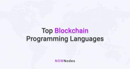 Top Blockchain Programming Languages | News about Nodes | The Official NOWNodes Blog