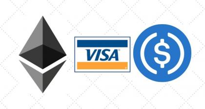 Visa Starts Settling Payments in USDC on Ethereum Blockchain