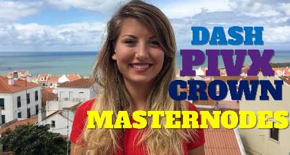 Masternodes are on the Rise: Dash, PIVX and Crown