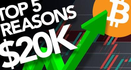 Top 5 Reasons Why Bitcoin Will Hit 20ok Again Very SOON