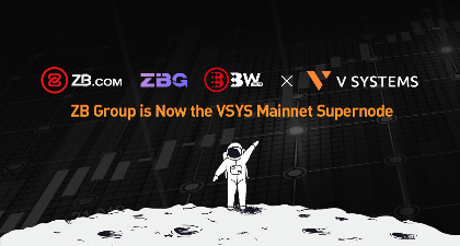 ZB group becomes VSYS mainnet supernode