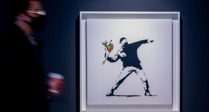 Sotheby's will accept bitcoin for Banksy painting auction