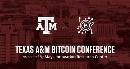 More Than 1,600 Participate In Mays Innovation Research Center Bitcoin Conference