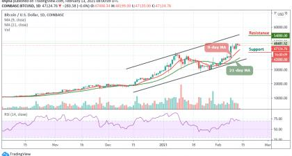 Bitcoin Price Prediction: BTC/USD May Likely See Further Downside as Price Fails to Break above $48,000