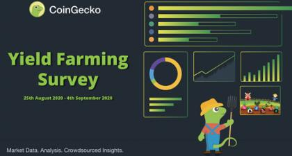 CoinGecko Yield Farming Survey September 2020