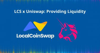 LCS x Uniswap: Providing Liquidity