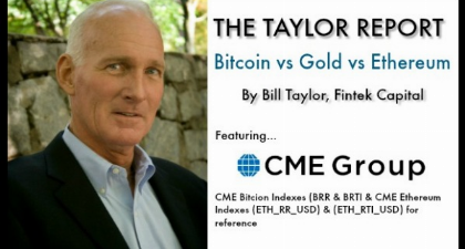 The Taylor Report-Bitcoin vs Gold vs Ethereum (1/28/19)