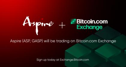 New Coin Listing – Aspire (ASP, GASP)