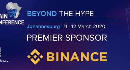 Blockchain Africa <bold>Conference</bold> <bold>2020</bold> Announces Binance as a Premier Sponsor